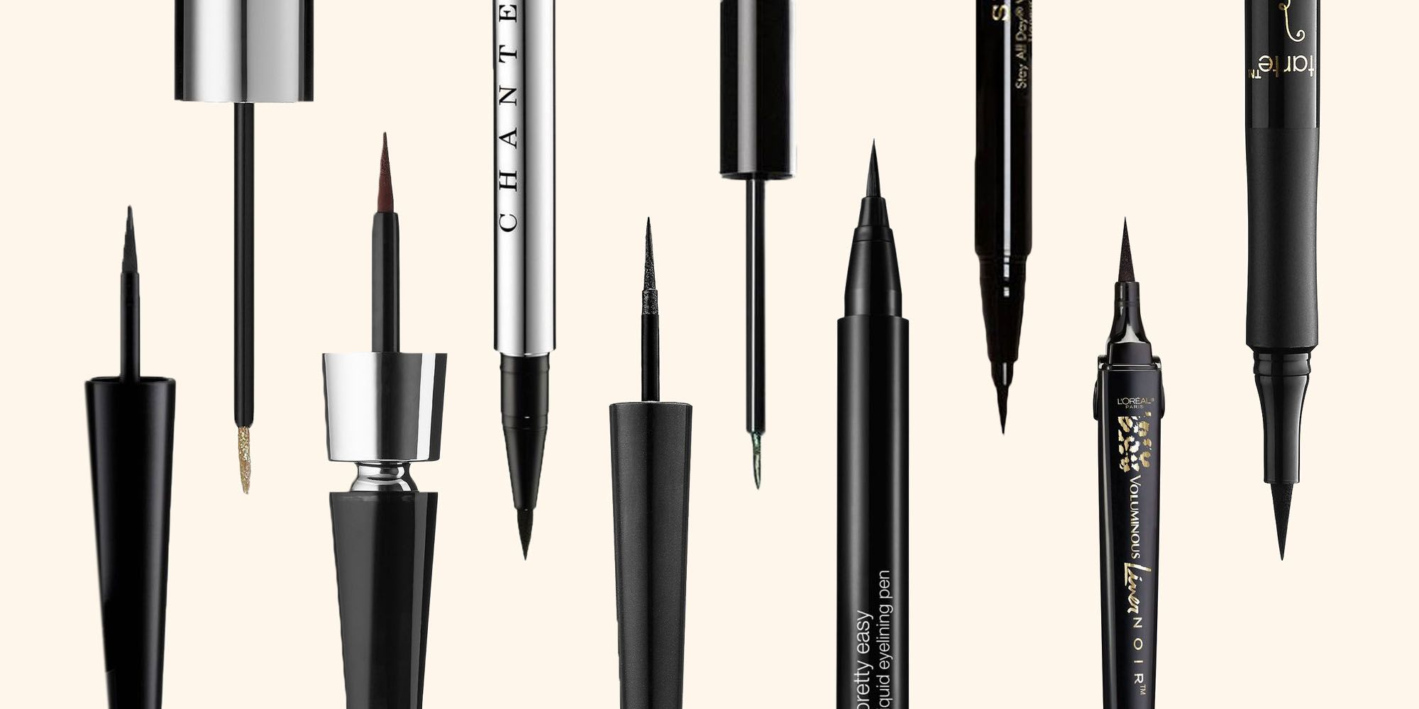 Our favourite black eyeliners